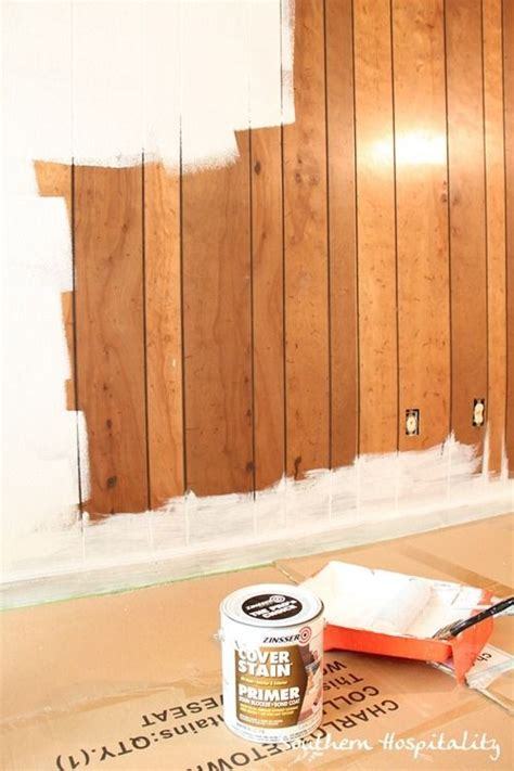 primer for wood paneling a house paint wood paneling and primer on pinterest