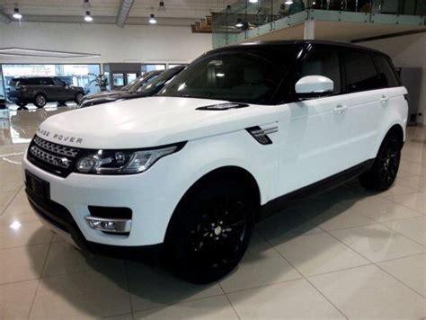 matte range rover 2017 matte white range rover sport cars white