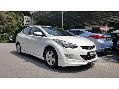 2012 Hyundai Elantra Gls by Hyundai Elantra 2012 Gls 1 6 In Kuala Lumpur Automatic