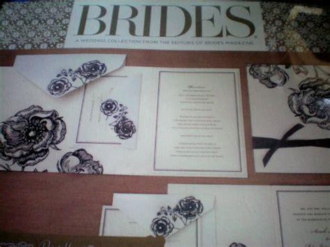 brides printable wedding invitation kits amazon com brides magazine wedding invitation kit