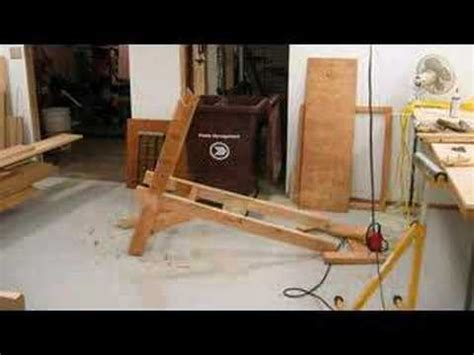 how to make a homemade weight bench bench youtube