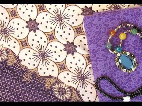 Kain Batik Prada Pekalongan Bunga Sepatu Warna Biru Tanpa Embos gambar kain batik kombinasi tulis motif bunga kecil warna pink keunguan di rebanas rebanas