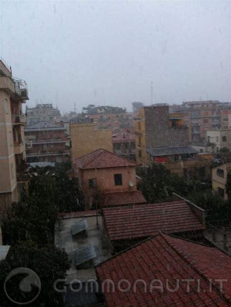 ore roma ore 7 30 nevicata a roma