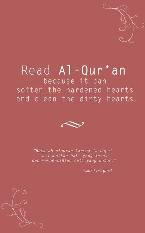 quran in english clear and easy to read with audio read al qur an because it can soften the hardened hearts