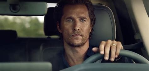 which actor does the new cadilliac comercial brandchannel the mcconaughey factor 5 questions with