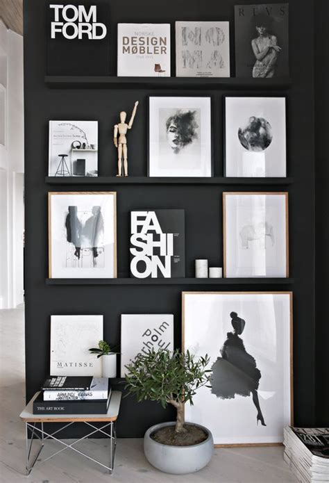 black white and gray home decor best 25 black wall decor ideas on pinterest black walls