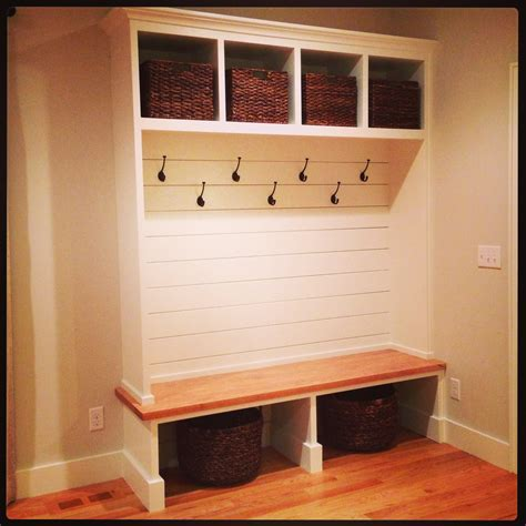 mudroom bench shoe storage plans i like all the hooks and the open design need more room
