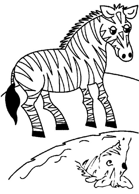 zebra coloring page zebra free printable coloring pages