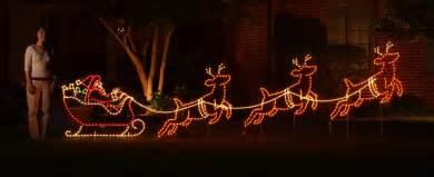 santa sleigh yard decoration outdoor decorations santa sleigh rainforest