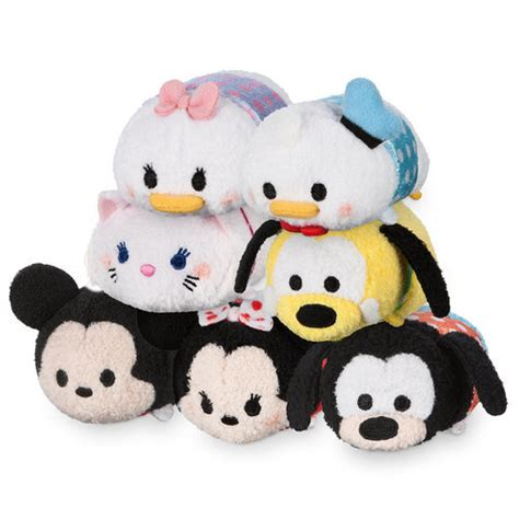 Pajamas Glow In The Tsum Tsum Friends Set 2in1 Baju Celana mickey mouse and friends polka dot mini tsum tsum plush collection shopdisney