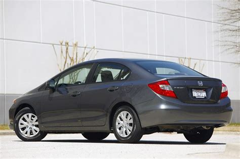 first drive 2012 honda civic sedan and coupe autoblog