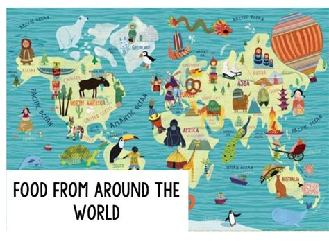 foods from around the world food around the world