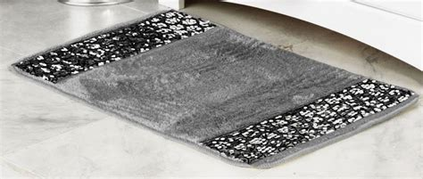 Silver Bath Rugs by Sinatra Silver Bath Collection Designs