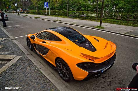 orange mclaren orange mclaren p1 from czech republic