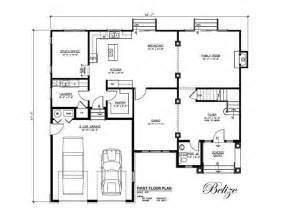 build a house floor plan belize