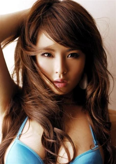 asian hair color trends for 2015 koyu kahve sa 231 rengi ve modelleri