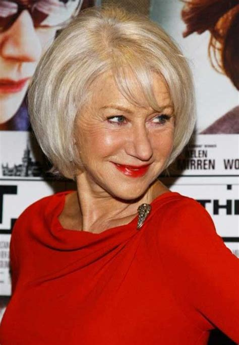 bobs for women over 60 with fine hair 15 chic bobs for older women bob hairstyles 2017 short