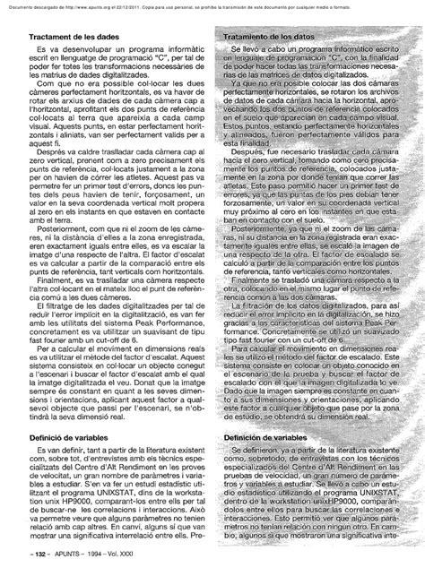 Estudio biomecánico de la técnica en la Carrera