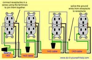 wiring a switched receptacles in series wiring get free