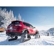 Nissan Rogue Warrior Concept Un X Trail Con Orugas Para Nieve