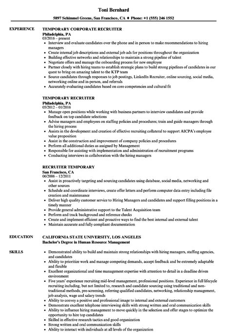 Resume Temporary Agency by Temporary Resume Sle Contemporary Resume