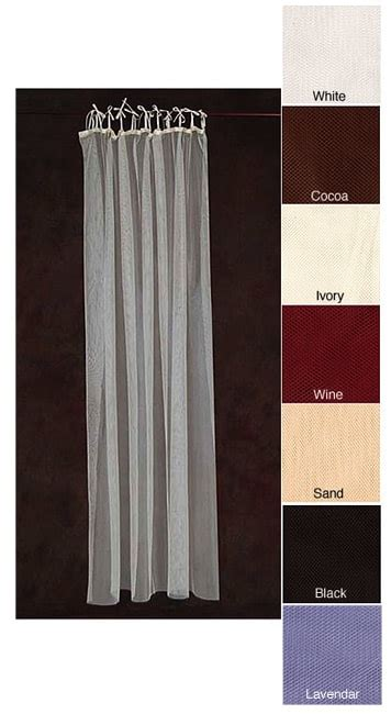 87 inch curtains sheer netting tab top 87 inch curtain panel pair free