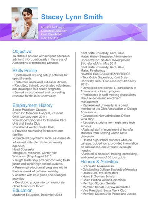 resume templates publisher publisher resume sle