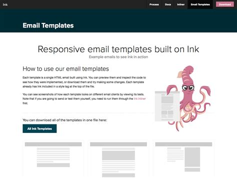 The Ultimate Guide To Email Design Webdesigner Depot Basic Responsive Email Template