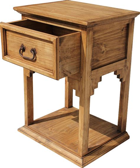 Rustic Pine Nightstand Rustic Pine Collection New Mexico Nightstand Bur70