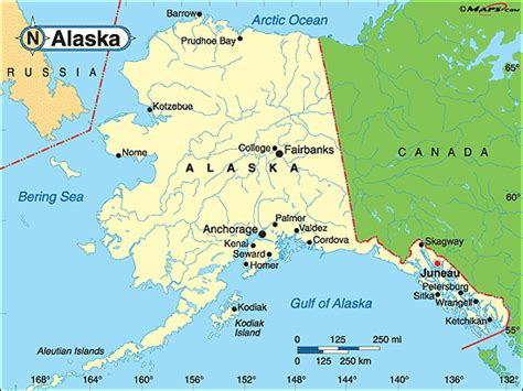 us political map alaska alaska political map by maps from maps world s
