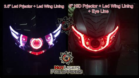 Lu Projector Mio Sporty mio soul i 115 installed 3 5in led 5in hid projector led wing hotlights philippines