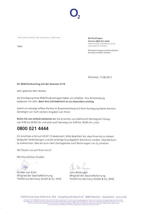 Kündigung O2 Vertrag Brief O2 Blue All In L Test Erfahrungsbericht Zur Lte Allnet Flat O2