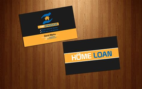 17 Home Loan Business Cards Modern Upmarket Business Card Design For David Marks By