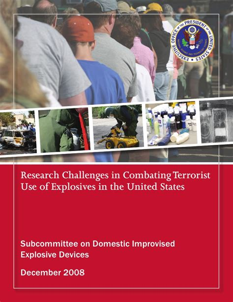 combating terrorism the challenge research challenges in combating terrorist use of