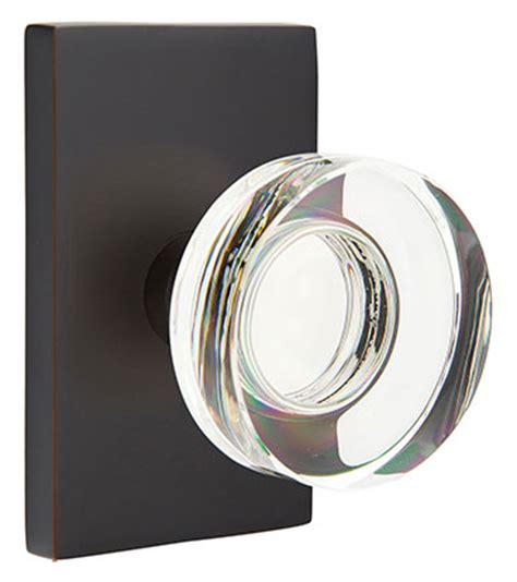 emtek modern disc door knob