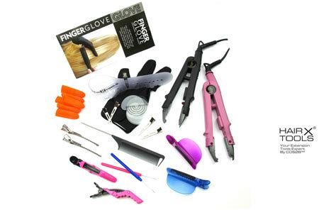 Mapepe Hair Rubber Small Black 5g fusion gun heat connector iron wand pre bonded hair