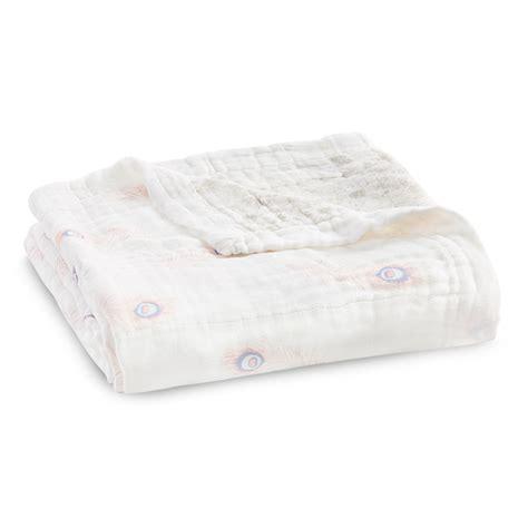 Aden Anais Silky Soft Blanket Berry Shibory Selimut Bayi silky soft blanket featherlight aden anais
