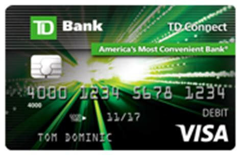 How Much Money Left On Visa Gift Card - td connect reloadable prepaid visa 174 card td bank