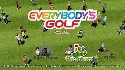 everybody s everybody s golf ps4 how to play local multiplayer