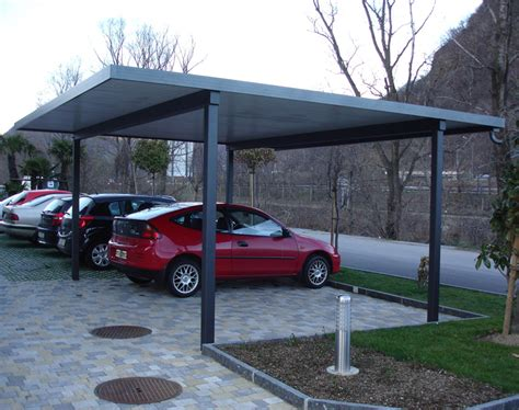 costruire una tettoia in ferro come realizzare un posto auto coperto con copertura in