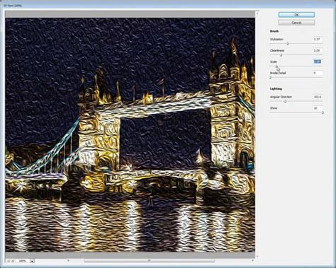 tutorial photoshop oil painting effect photoshop oil painting effect tutorials psddude