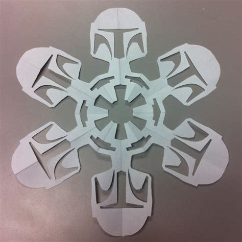 Make Your Own Snowflake Out Of Paper - create your own wars paper snowflakes designtaxi