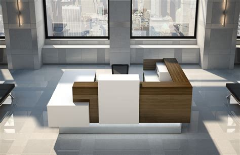 Logiflex Reception Desk Manhattan Logiflex