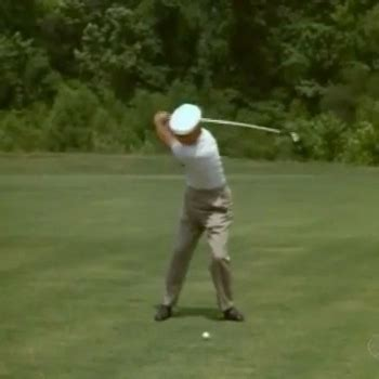 ben hogan swing analysis front view