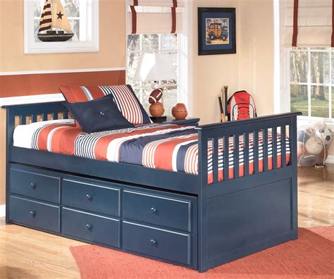trundle bedroom sets leo youth trundle storage bedroom set from ashley b103