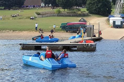 pedal boat reviews pedal boats can be hired picture of bewl water