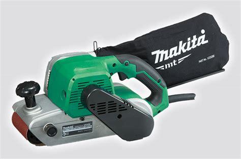 makita bench sander makita product details m9400m 100mm belt sander