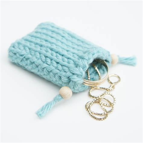 crochet pattern small drawstring bag knot sew cute design shop new tunisian crochet pattern