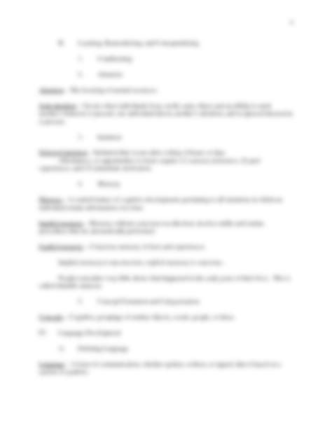 Chapter 7 Memory Psychology Worksheet by Test 1 Chapter 3 Notes Docx Psychology 3200 With Miranda