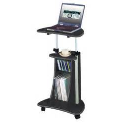 Laptop Desk Cart Portable Office Laptop Desk Rolling Adjustable Table Cart Computer Mobile Stand Ebay